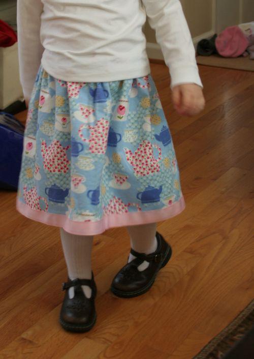 Teacup skirt